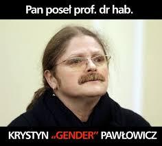 gender pawłowicz