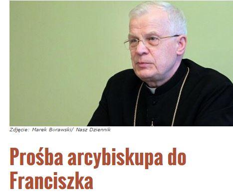prośbaArcybiskupa