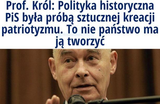 profKrólPolityka