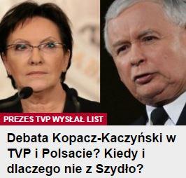 debataKopaczKaczyński