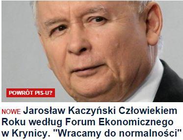 jarosławKaczyńskiCzłowiekiemRoku