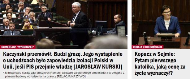 kaczyńskiPrzemówił