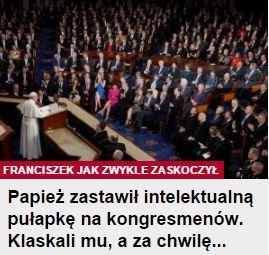 papieżZastawił