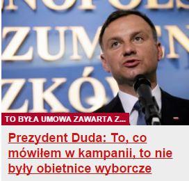 prezydentDudaToCo