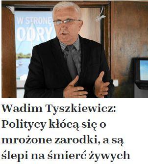 wadimTyszkiewiczPolitycy