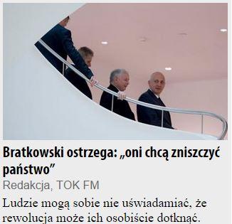 bratkowskiOstrzega