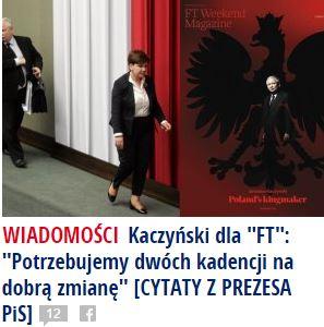 kaczyńskiDla FT